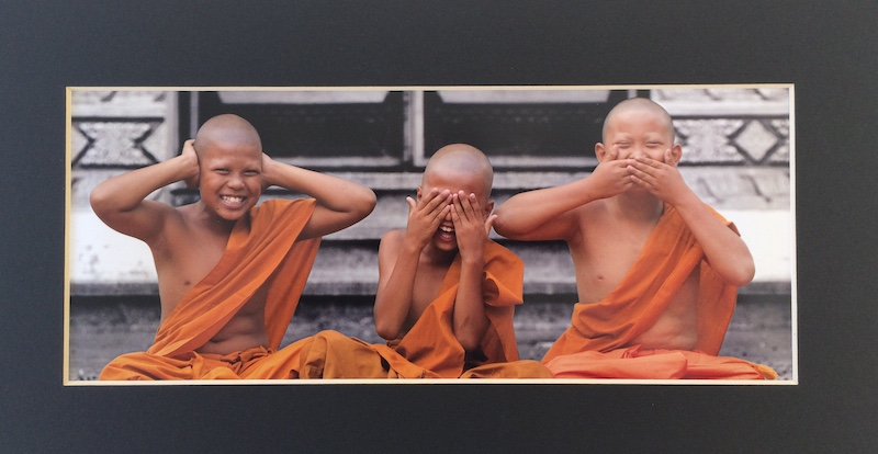 Three Joyous Monks